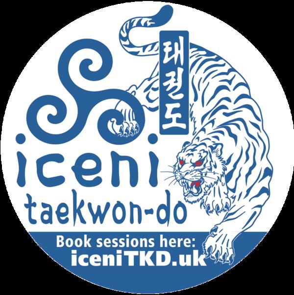iceni taekwon-do car stickers